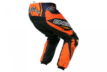 Pantalon ONEAL ELEMENT RACEWEAR Noir Orange