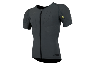 Maillot de protection ixs carve gris l xl