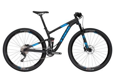 vtt tout suspendu trek 2017 top fuel 8 29 shimano deore 10v noir bleu 18 5 pouces 170 179 cm