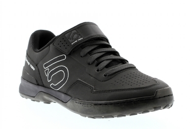 chaussures vtt five ten kestrel lace noir carbone 42 1 2