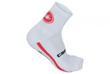 paire de chaussettes castelli merino 9 blanc 35 39