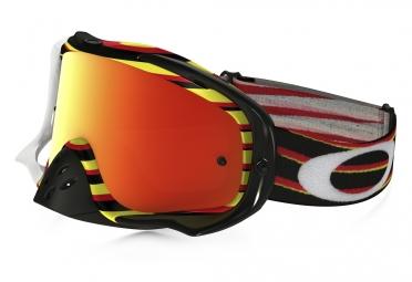 Masque Oakley Crowbar MX  grey black/yellow/red