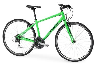 Vélo de Ville Trek FX 2 WSD Shimano Acera 8V Vert 2017