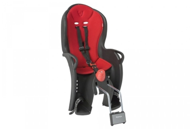 HAMAX SLEEPY Child Bike Seat Black Red