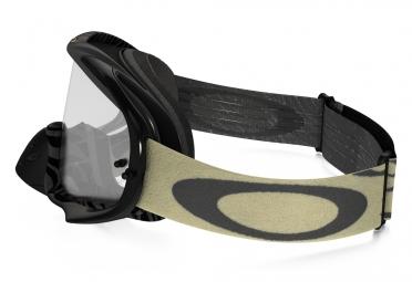 Masque Oakley Crowbar MX Animalistic Gris Blanc/Noir