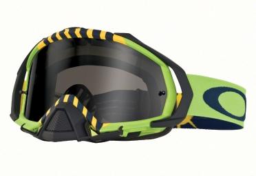 Masque OAKLEY Mayhem Pro TLD Flight Serie Royal Aces Vert/Noir Fumé OO7051-19