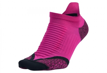 Chaussettes nike elite cushioned no show tab rose 41 43