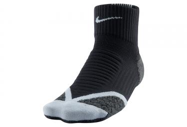 chaussettes nike elite cushion quarter noir 38 40