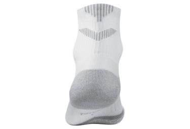 chaussettes nike elite cushion quarter blanc 38 40