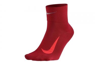 Paire de chaussettes nike elite lightweight 2 0 rouge 46 48