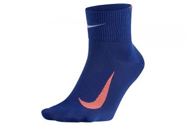 Paire de chaussettes nike elite lightweight 2 0 bleu 46 48