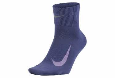 Paire de chaussettes nike elite lightweight 2 0 violet 36 38