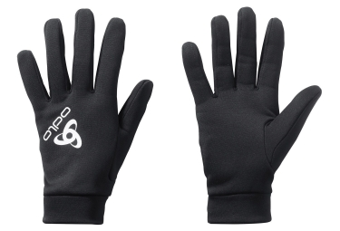 ODLO Pair of Under-Gloves STRETCHFLEECE Black