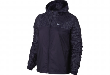 veste femme nike shield flash violet s