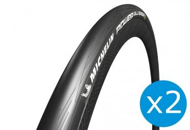 MICHELIN POWER ALL SEASON Road Tyres 700x23c Folding Black Bundle