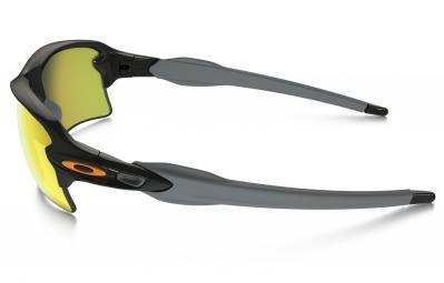 lunettes oakley flak 2 0 xl team colors noir jaune iridium ref oo9188 22