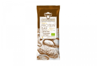 CHIMPANZEE Barre Protéinée 100% naturelle Beurre de Cacahuète 45g SANS GLUTEN