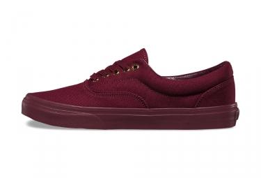 paire de chaussures vans era mono gold port royale 42