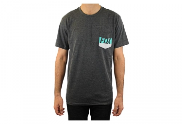 FOX T-Shirt LIBRA POCKET Gris