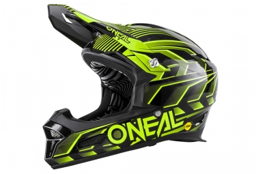 Casque integral oneal fury rl mips 2017 noir jaune s 55 56 cm