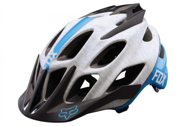 Casco FOX FLUX - Blanco Azul