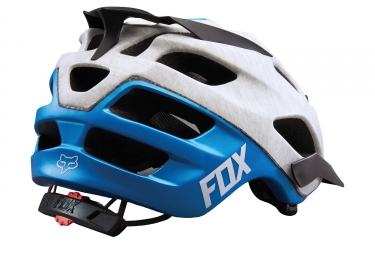 Casque All Mountain FOX FLUX 2016 Blanc Bleu