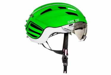 Casque Aero CASCO SPEEDSTER-TC PLUS Vert Blanc