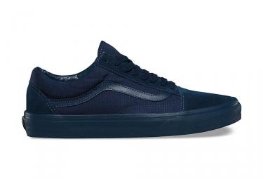 Paire de chaussures vans old skool mono bleu 40 1 2