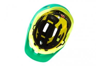 casque vtt bontrager quantum mips vert jaune m 54 60 cm