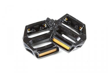 Paire de Pédales Aluminium WELLGO LU313 Noir