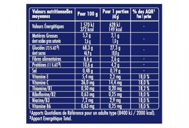 APURNA Barre Energetique Pomme-Caramel Boite 3x40g