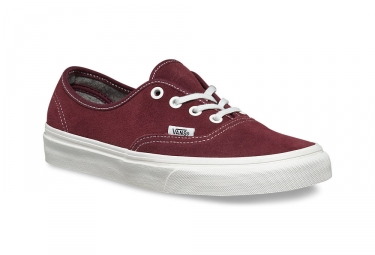 Sneaker Vans Zapatillas Vans VARSITY SUEDE AUTHENTIC Rojo