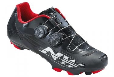 chaussures vtt northwave blaze plus noir blanc rouge 41