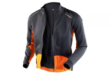 veste coupe vent x bionic spherewind bt 2 1 noir orange s