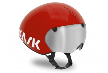 kask casque bambino pro rouge m 48 58 cm