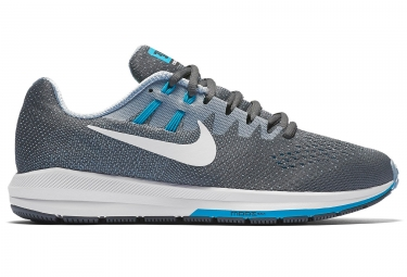 nike air zoom structure 20 gris bleu homme 41