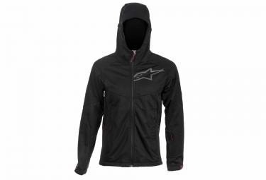 veste coupe vent alpinestars milestone 2 noir s