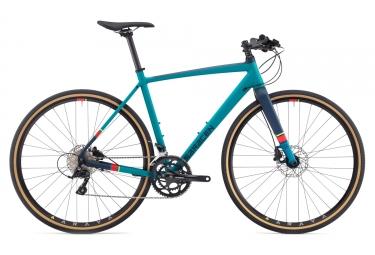 gravel bike saracen hack fb shimano sora 9s blue 2017 54 cm 165 175 cm - Saracen
