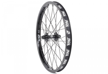 Rant Party On Front Wheel Black