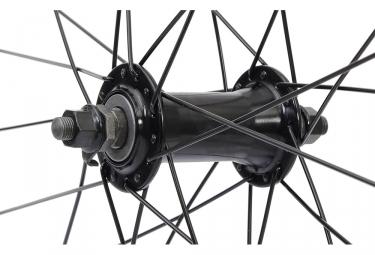 POSITION ONE V2 Front Wheel 20'' x 1-3/8 Black