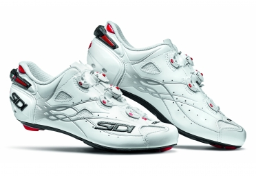 chaussures route sidi shot 2017 blanc 44