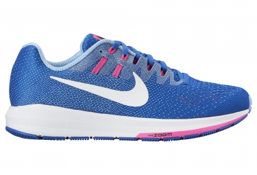 Nike air zoom structure 20 bleu rose femme 38