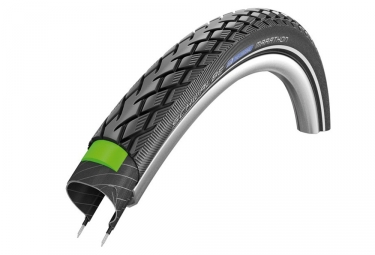 pneu schwalbe marathon 700 mm tubetype rigide twinskin endurance compound greenguard