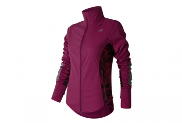 Veste new balance windblocker violet m