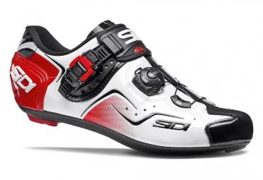 Chaussures Route Sidi Kaos Noir / Blanc / Rouge