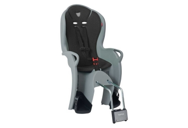 HAMAX KISS Child Bike Seat Grey Black
