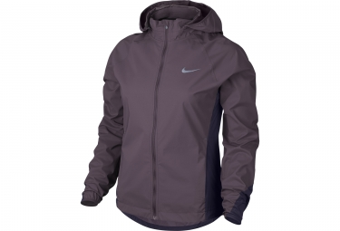 veste coupe vent femme nike shield rose violet m