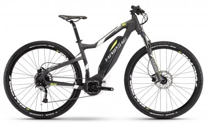 bicicleta electrica haibike sduro hardnine 4 0 hardtail 29 shimano acera 9s 400w gris xl 185 195 cm - Haibike