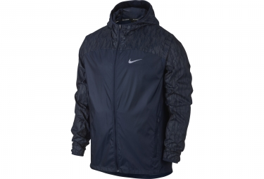 veste coupe vent homme nike shield flash bleu l