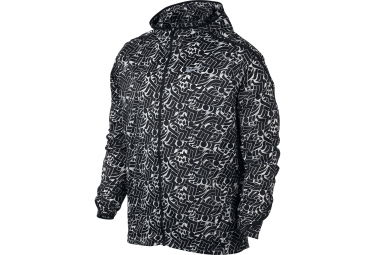 veste coupe vent homme nike shield impossibly light rostarr noir blanc xl